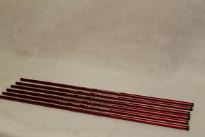 "Sky Art Archery 10 Buster Swiss Crossbow Makers Bolt Shaft Red Length 20"" Qty 6"