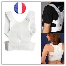 Ceinture Soutien Support Dos Magnétique Douleur Posture Magnetic Back Shoulder