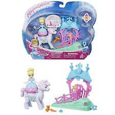 Disney Princess Cinderella's Magical Movers Pony Ride Stable Toy Playset