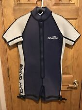 Mens Wetsuit ML Medium Large 3mm Shorty Spring Wakeboard Wet Suit Water Ski Dive