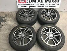 Euro R RAYS serie versus turismo conspired by RAYS16X7JJ  rims 5X114.3 W/3TIRES