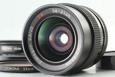【MINT】 Contax Carl Zeiss Distagon T* 25mm f2.8 AEG MF Lens C/Y JAPAN #0206