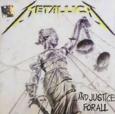 Metallica and Justice for All CD 9 Track (8360622) French Vertigo 1988