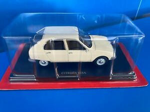 1/24 1/24eme Collection Citroën N°49 VISA CLUB voiture miniature Hachette