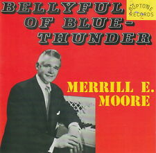MERRILL E. MOORE Bellyful Of Blue Thunder CD - NEW - 1950s piano rock 'n' roll