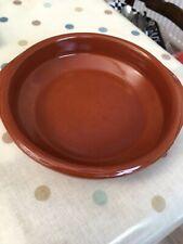 Set of 4 x 15cm Spanish Terracotta Tapas Dishes / Bowls / Cazuelas Abombada