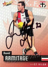 ✺Signed✺ 2014 ST KILDA SAINTS AFL Card DAVID ARMITAGE