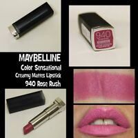 MAYBELLINE: Color Sensational Creamy Matte Lipstick 940 Rose Rush *NEW/SEALED*