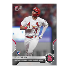 2021 TOPPS NOW #821 DYLAN CARLSON ST LOUIS CARDINALS 1ST MULTI HOME RUN GAME