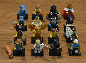 Lego® 71011 Minifiguren Minifigures Serie 15 alle 16 Figuren komplett - NEU