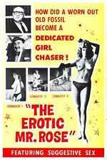 Erótico Señor Rose Poster 01 A3 Caja Lona Impresión