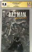 DC The Batman Who Laughs 1 CGC SS 9.8 Lucio Parrillo Variant Signed By Parrillo!