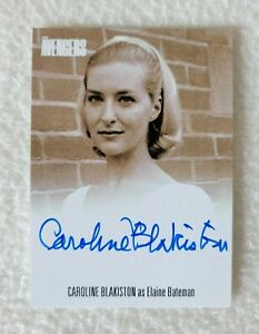Unstoppable Cards The Avengers Complete Collection Caroline Blakiston Auto Card