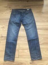 Para Hombre G-Star Low Cónico Jeans. W32 L30