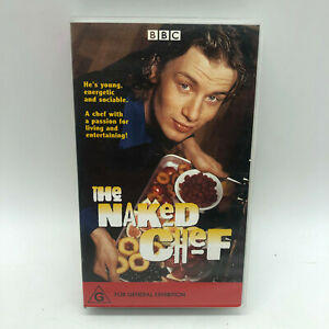 The Naked Chef - Jamie Oliver - Vintage BBC VHS - Free Post
