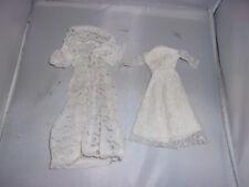 70er Jahre Design-Braut-Kleid+Mantel-Barbie-Petra-Modeladen