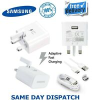 Samsung Adaptive Fast Charger UK EU DN930 Type C Cable For S10,S10E,S10+