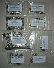 YAMAHA XT 600 1982-2007 Engine stainless allen screw kit XTE TT XTZ TTR TENERE
