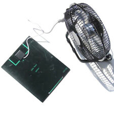5.2W 6V Solar Panel Powered Large 8 Inch Fan for Camping Caravan Yacht Greenhous
