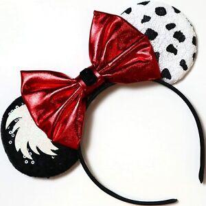 Princess Minnie Mickey Mouse Ears headband Disneyland Disney HANDMADE