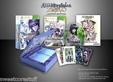 Record of Agarest War Zero Limited Edition Microsoft XBOX 360 Unopened Sealed