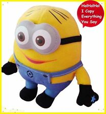TALKING TOY DESPICABLE ME MINION CHARACTER DAVE PLUSH DOLL SOFT SOUND RECORDER