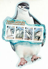 South Georgia & Sandwich Isl MNH Stamp Sheet 2008 CHINSTRAP PENGUINS SG MS457
