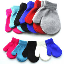 Soft Winter Gloves Toddler Boy Girl Kids Baby Cute Knitting Mittens Warm Gloves