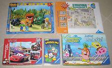 Junior Malefiz SpongeBob Schwammkopf, Gruselino Spiel, Ravensburger Puzzle