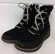 Sorel Cozy Joan Women's Boots UK Size 6 EUR 39, Black WATERPROOF