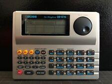 Roland Boss Dr Rhythm 670 Drum Machine MIDI Compact Velocity Sequencer