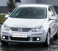 Sopracciglia per VW GOLF 5 2003-2008  palpebre fari ABS Plastica