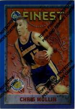 1995-96 Finest Refractors #246 Chris Mullin - NM-MT