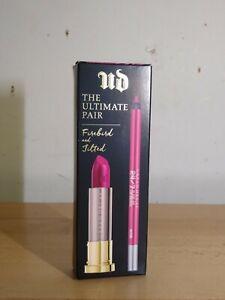 Urban Decay The Ultimate Pair Firebird and Jilted Lipstick + Lip Pencil BNIB