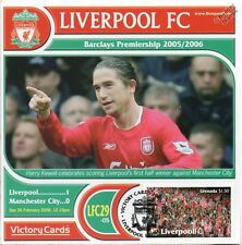 Liverpool 2005-06 Man City (Harry Kewell) Football Stamp Victory Card #529