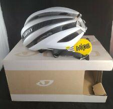 Giro Synthe MIPS Cycling Helmet Matte White Silver Medium