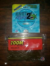 Knot 2 Kinky Nickel Titanium Leader Wire And Zoom Bait Worms
