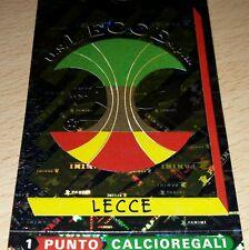 FIGURINA CALCIATORI PANINI 2000 SCUDETTO LECCE ALBUM