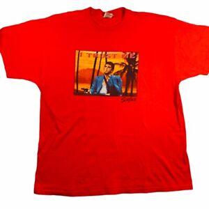 """Vintage Scarface """"I trust me!"""" Universal Studios shirt XXL 2XL rap tee"""