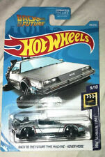Hot Wheels 2019 Back to the Future Delorian Hover Mode & Batmobile New in Pack