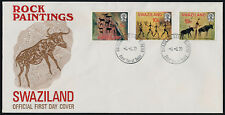Swaziland 285-7 on FDC - Rock Paintings