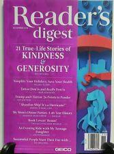 Reader's Digest November 2016 21 Stories  Kindness Generosity  FREE SHIPPING sb
