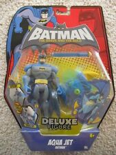 BATMAN **THE BRAVE AND THE BOLD** AQUA JET BATMAN DELUXE FIGURE - MIP