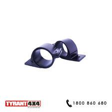 #0062016 Volkswagen Amarok TDI - 2 inch Black Brackets Clamps Bull Bar Roll Bar