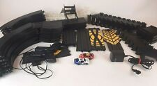 Life-Like Nascar Stock Car Thunder HO Slot Track Set - 2 Cars - 108 Pieces Total
