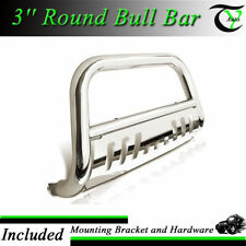 Fits 08-10 Ford F250 350 450 SS Bull Bar W/SKID Plate Brush Push Grille Guards