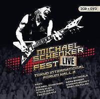 Michael Schenker Fest – Live Tokyo International Forum Hall A  2CDs + DVD