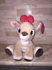RUDOLPH THE RED NOSED REINDEER PLUSH CLARICE FIGURE