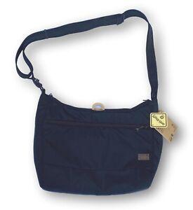 "NWT Pacsafe Citysafe CS200 Black Cross Body Shoulder Bag RFID Safe 13"" Laptop"