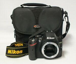 Nikon D3200 24.2 MP Digital SLR Camera Body With Case (Hol)